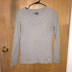 The North Face Grey Long Sleeve
